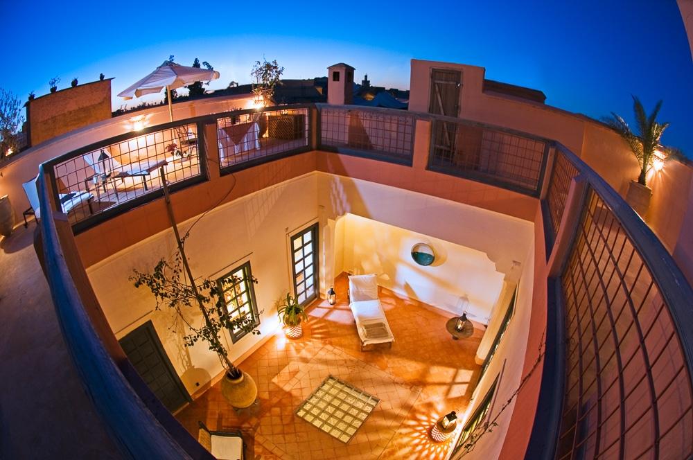 Riyad el Cadi, Marrakech, Morocco. Photo by Alan Keohane www.still-images.net