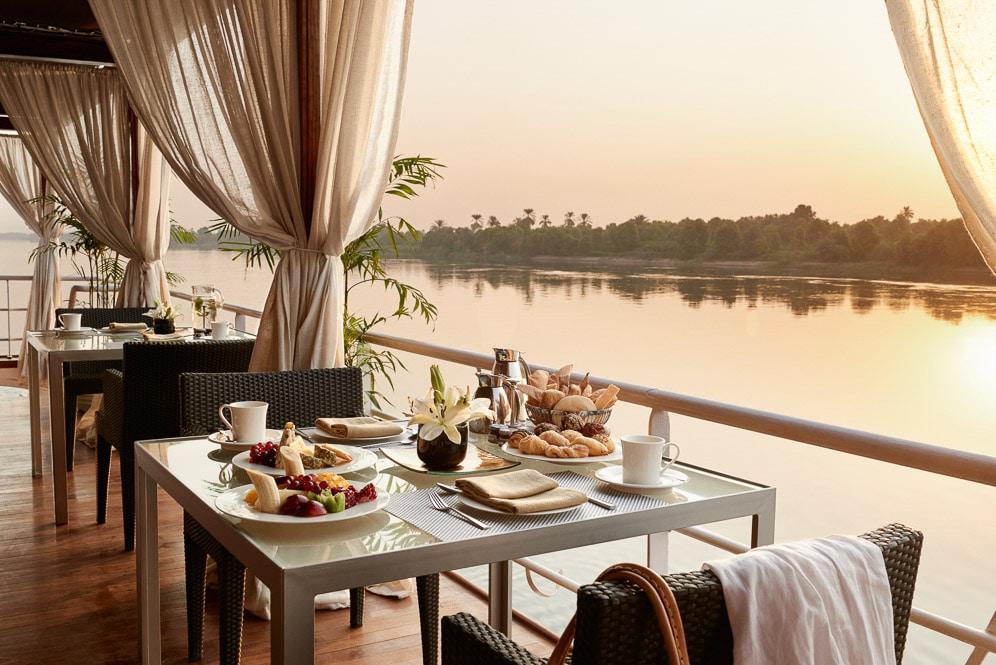 Egypt, The Nile, Sanctuary Nile Adventurer, Lower Sun Deck