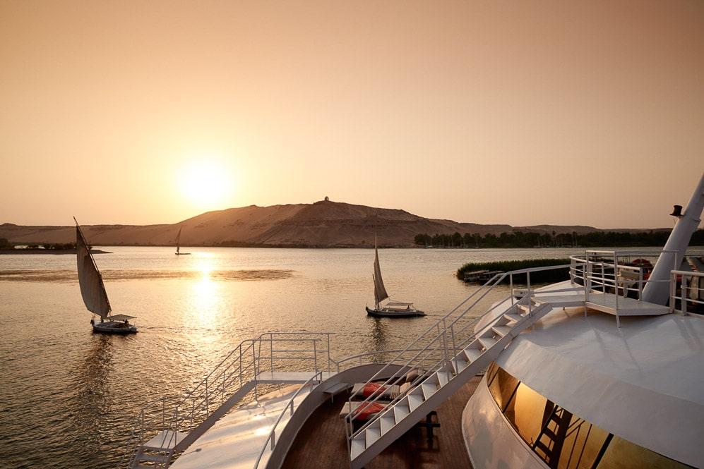 Egypt, The Nile, Sanctuary Nile Adventurer, Presidential Suite Deck