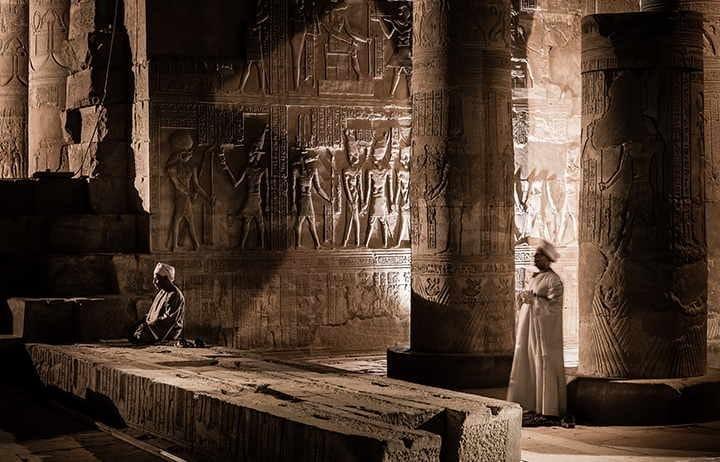 Sanctuary Nile Cruise Edfu Temple