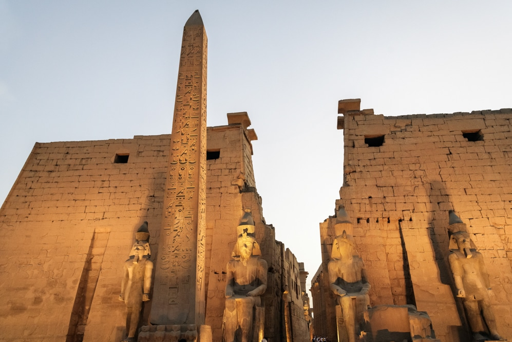 Egypt, Nile River, Luxor Temple