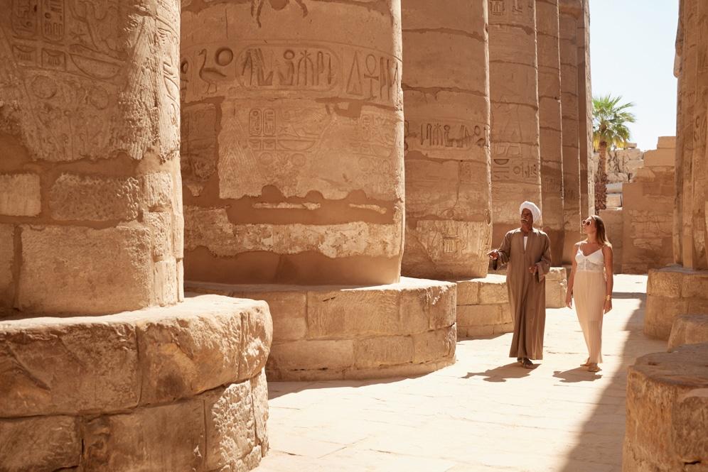 Egypt, The Nile, Sanctuary Nile Adventurer, Karnak Temple
