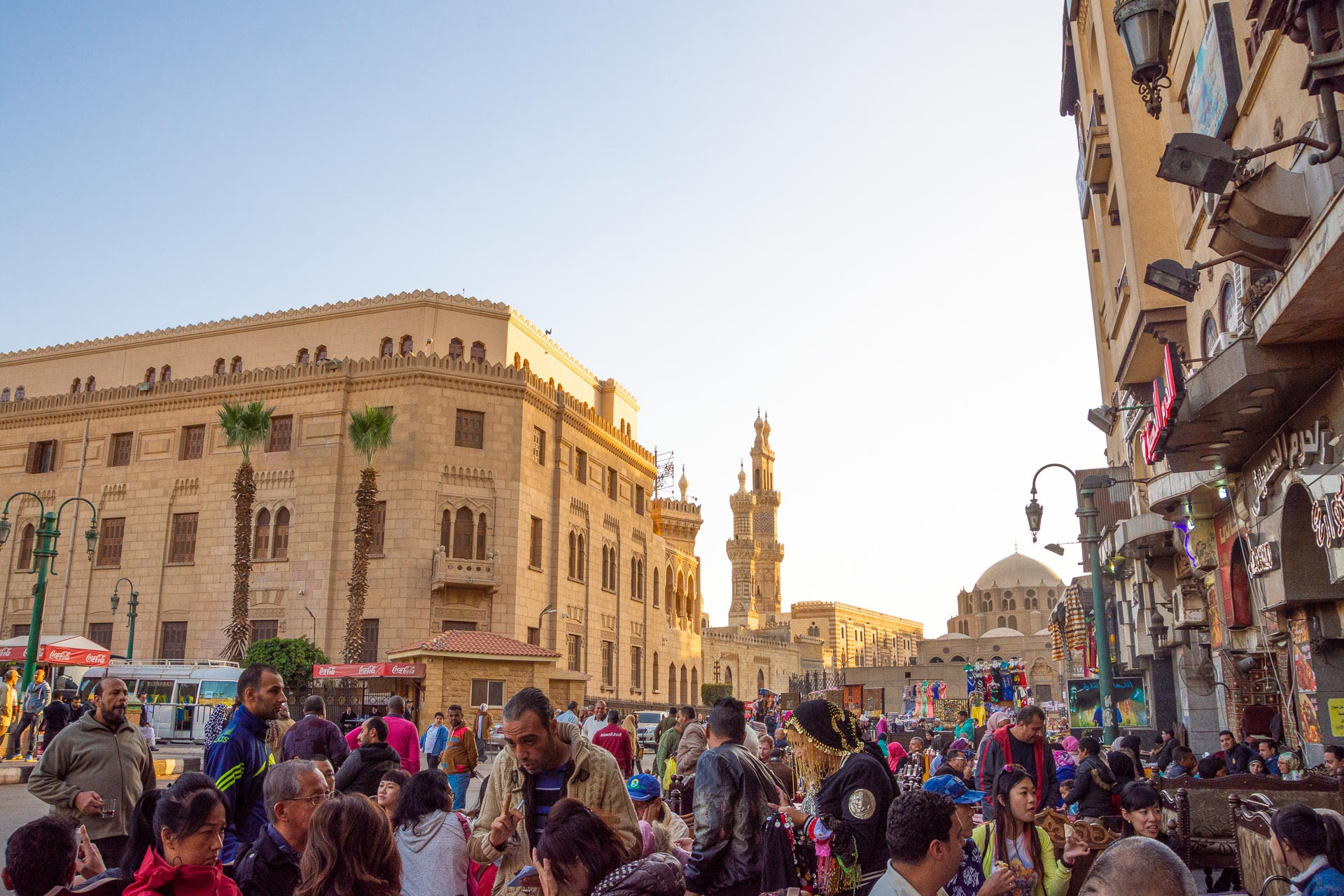 Chan el-Chalili Basar in der Altstadt von Kairo