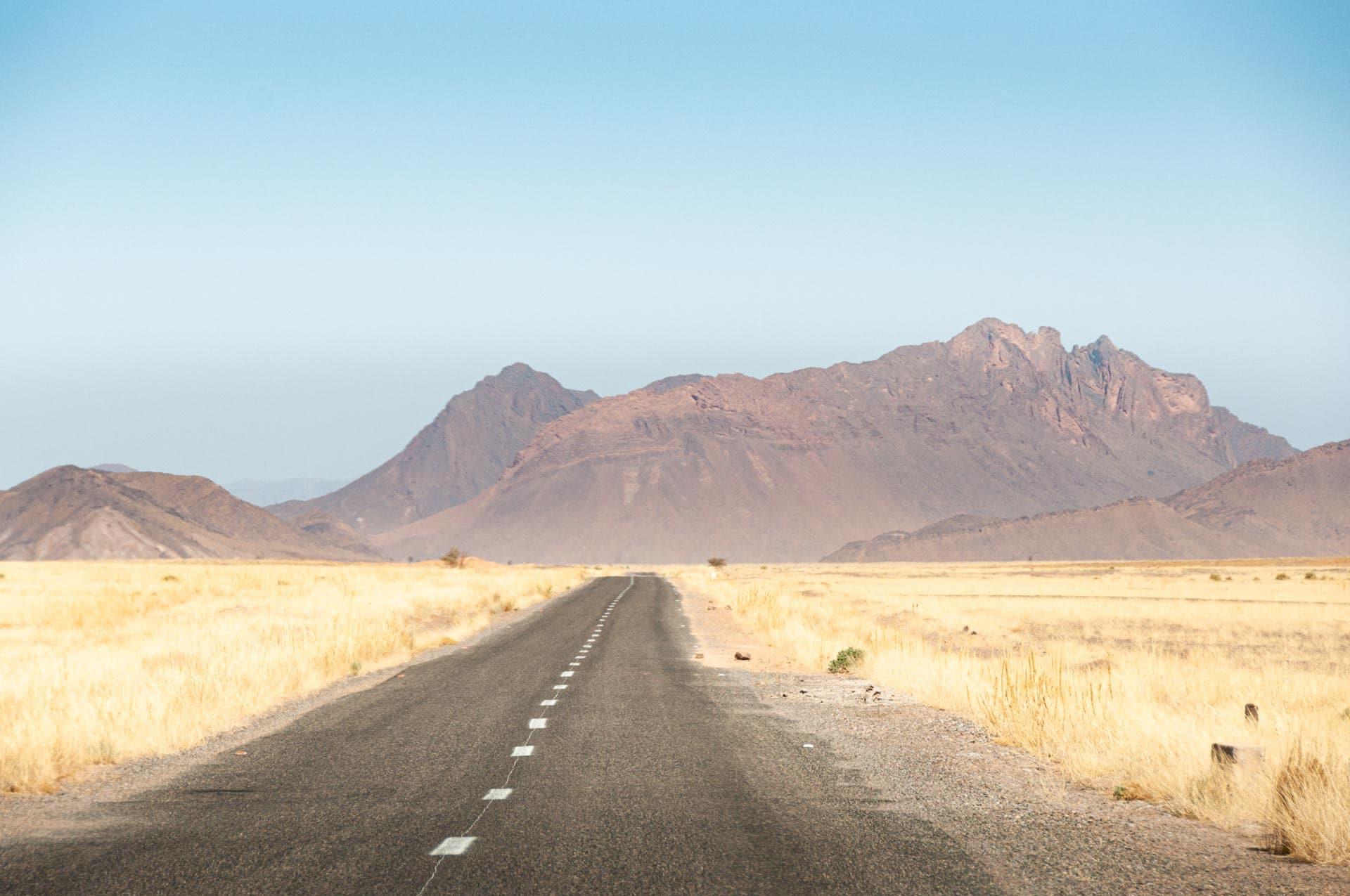 Hoher Atlas Gebirge in Marokko