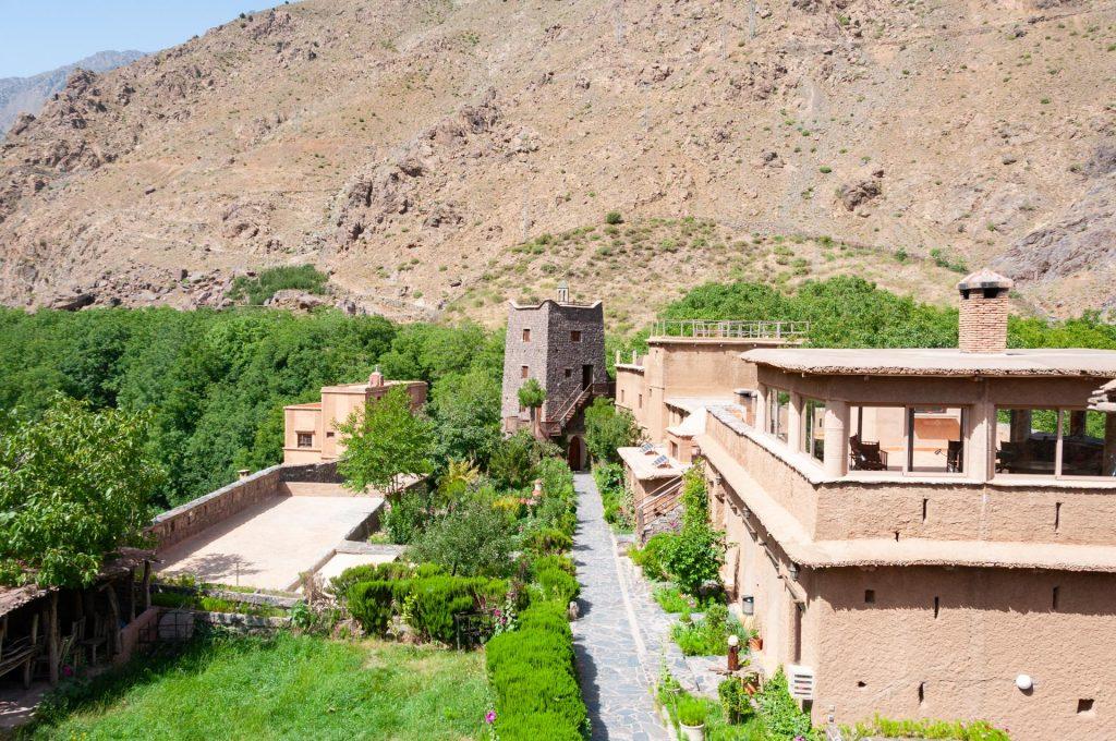 Kasbah du Toubkal in Marokko
