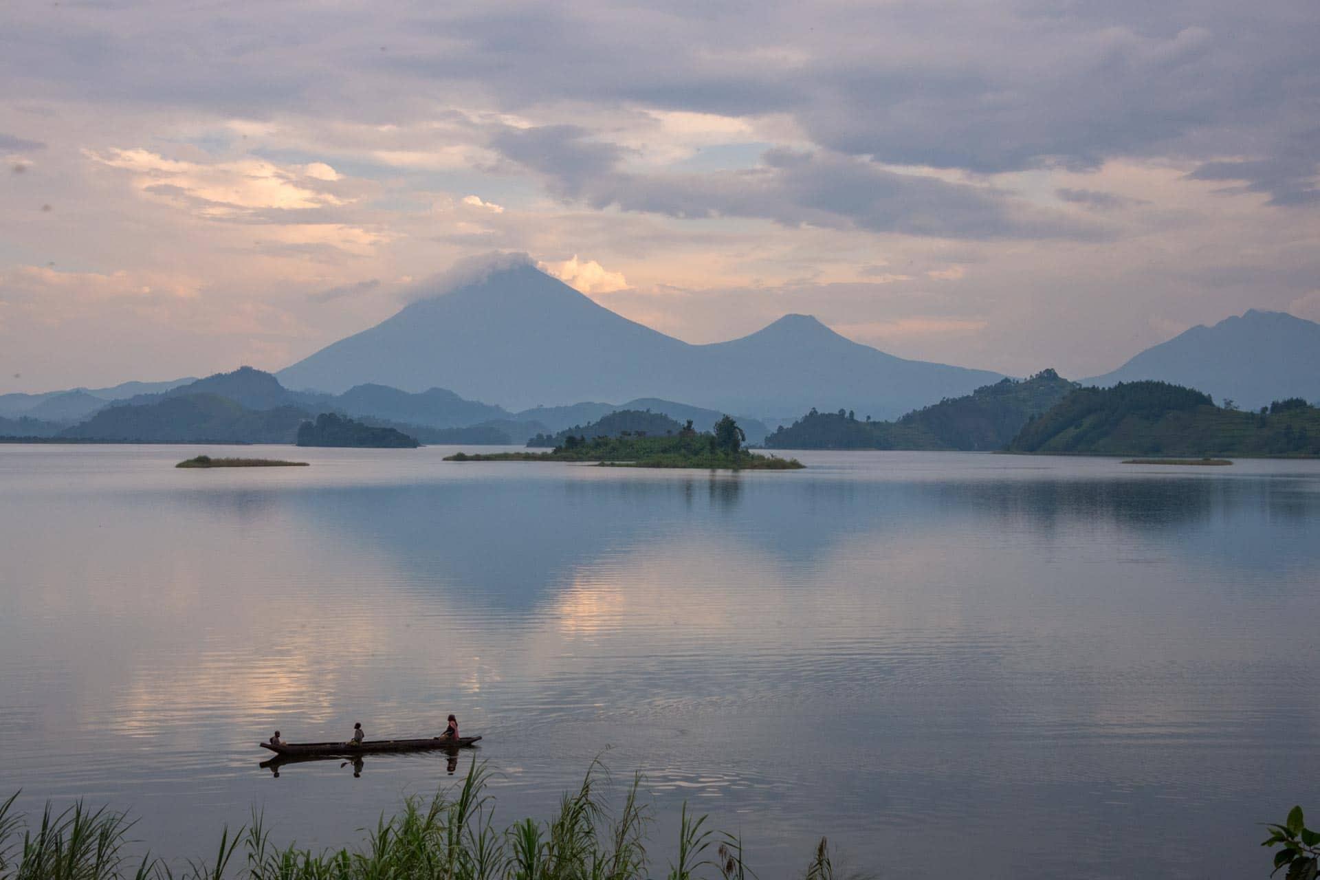 Lake Mutanda in Uganda