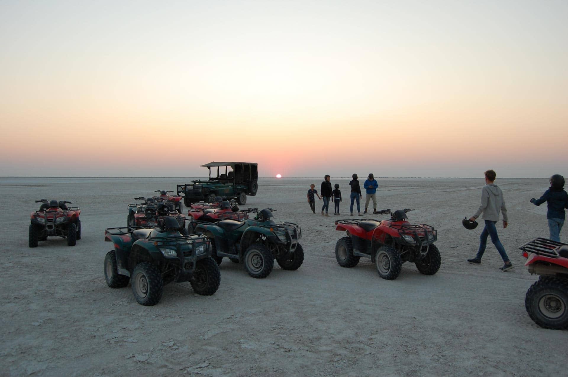Makgadikgadi Botswana
