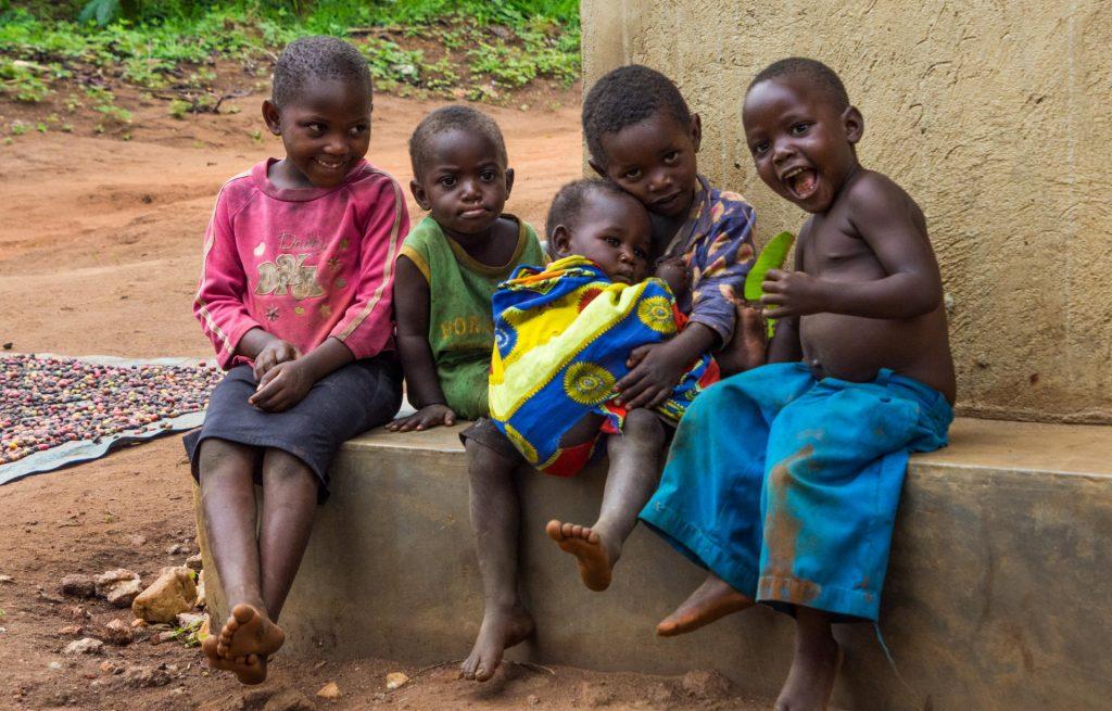 Menschen in Uganda