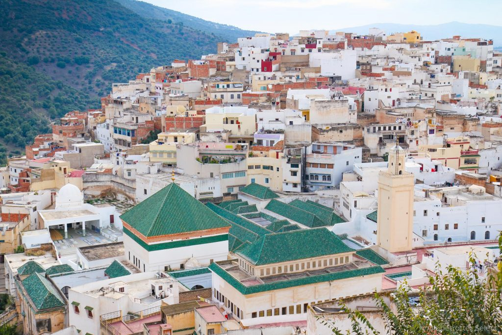 Moulay Idris oder Moulay Driss Zerhoun in Marokko