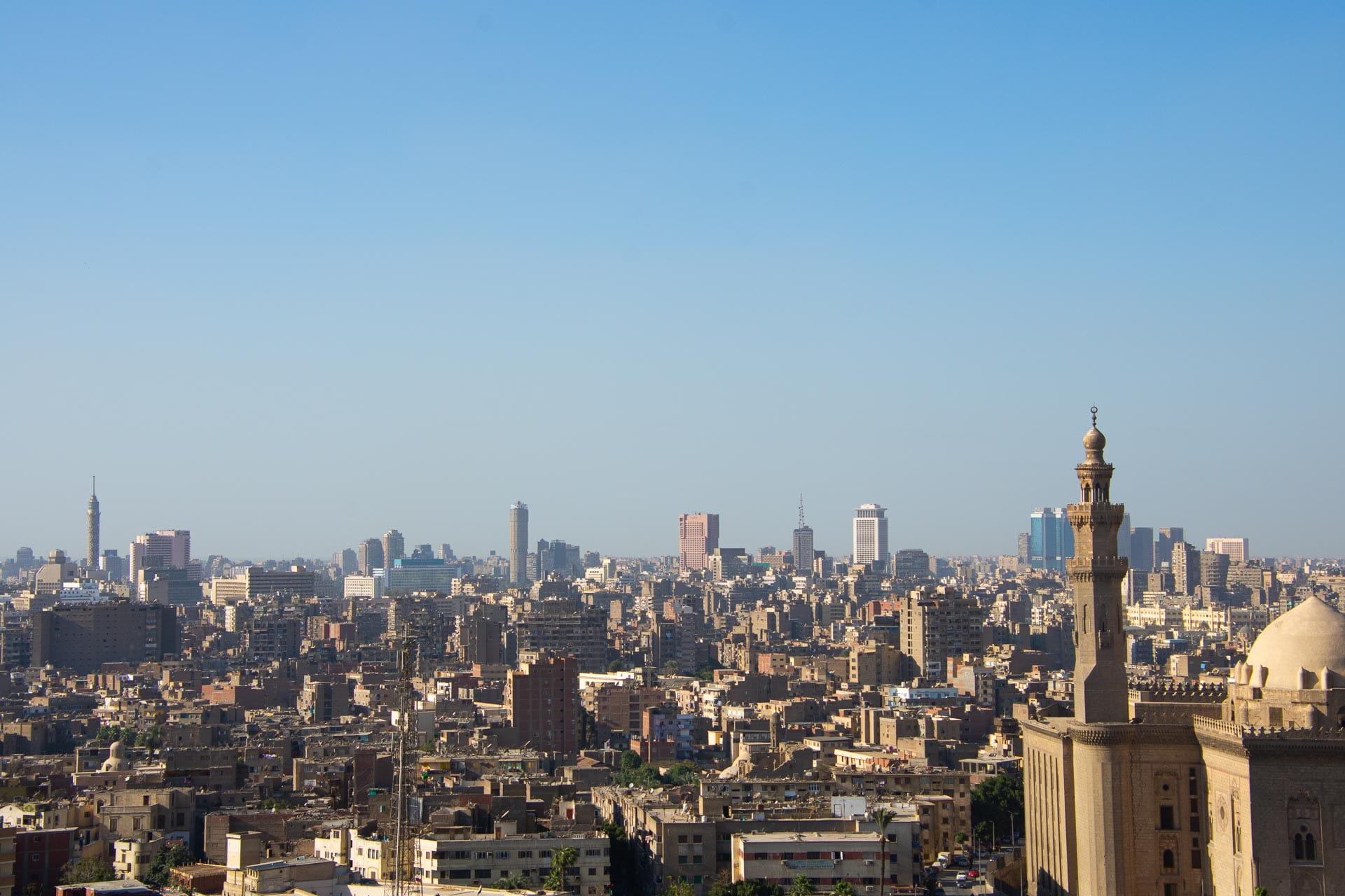 Die Muhammad-Ali-Moschee manchmal auch als Alabastermoschee bezeichnet, ist eine der großen Moscheen in Kairo