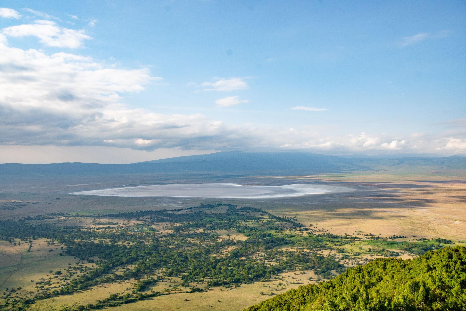Ngorongoro Einbruchkrater in Tansania