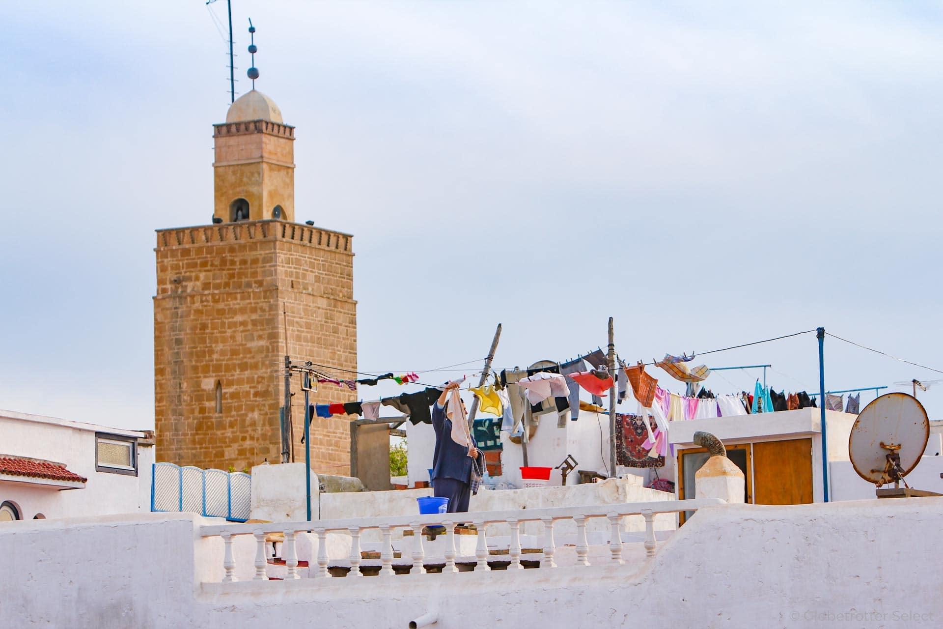 Hauptstadt Rabat in Marokko