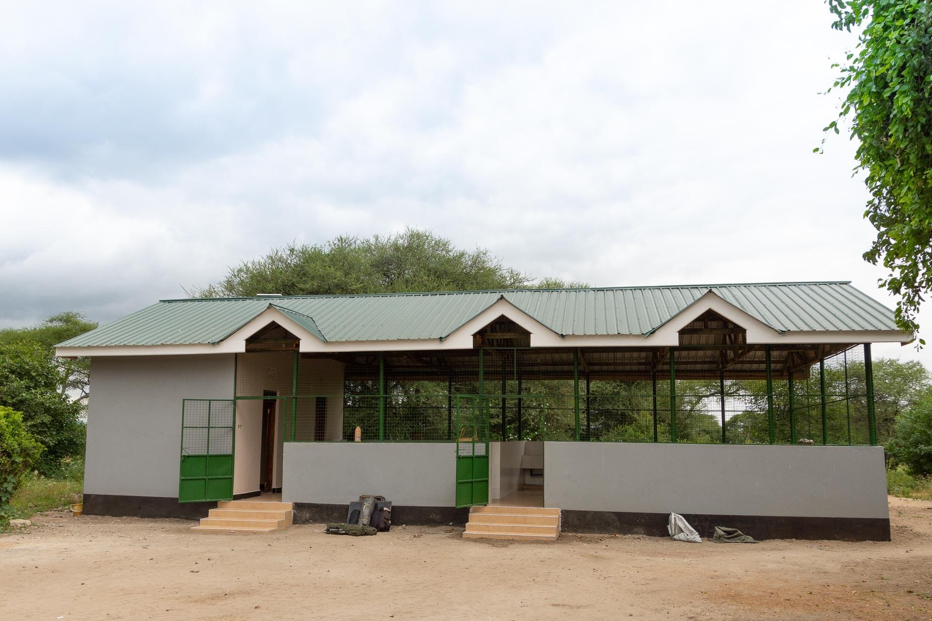 Tarangire public campsite Tansania