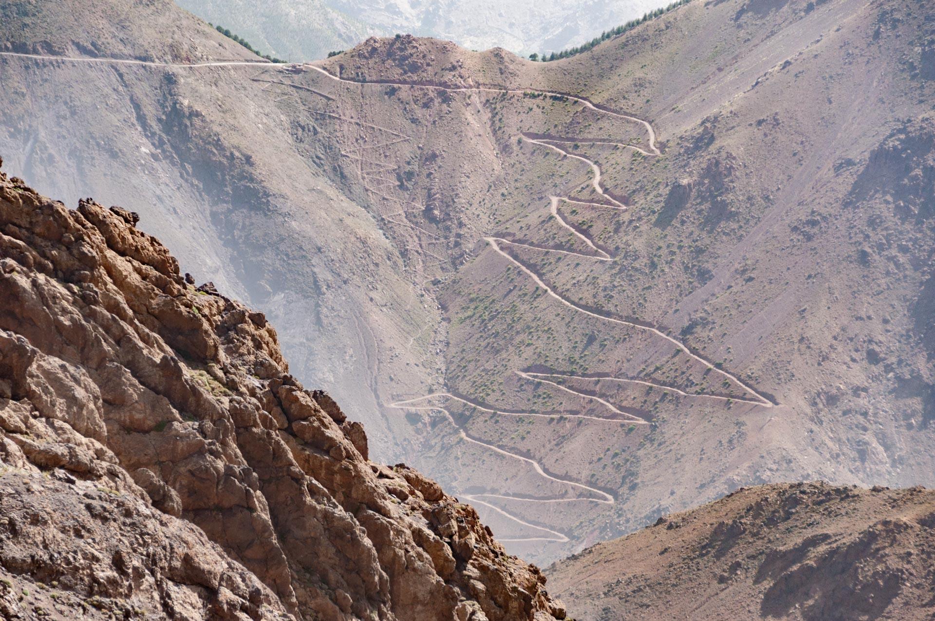 Toubkal Nationalpark in Marokko